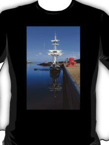 Tall Ship Alongside T-Shirt