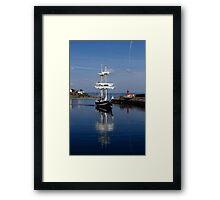 Tall Ship Captured Framed Print
