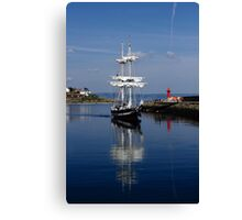 Tall Ship Captured Canvas Print