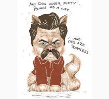 Ron Swanson Cat Unisex T-Shirt