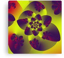 Floral Evolution 003.12.1.g4 Canvas Print