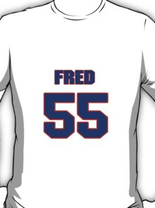 National football player Fred Strickland jersey 55 T-Shirt