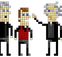 Father Ted - Pixel Art by NineLineMan
