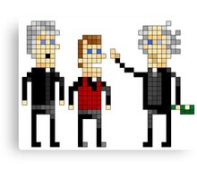 Father Ted - Pixel Art Canvas Print