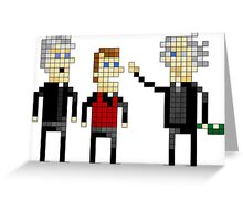 Father Ted - Pixel Art Greeting Card