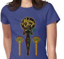 Melanin Girl Womens Fitted T-Shirt