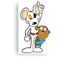 DangerMouse and Penfold Metal Print