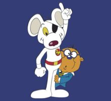 DangerMouse and Penfold by kobalos