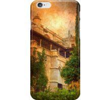 catedral de toledo. claustro.jardim iPhone Case/Skin