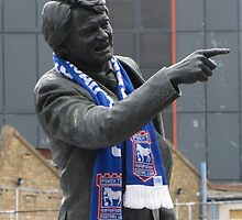 Sir Bobby Robson by wiggyofipswich
