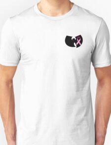 Wu-tang Breast cancer awareness T-Shirt