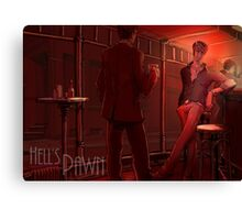 Hell's Pawn Canvas Print