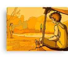 Something Like Autumn Canvas Print