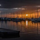 Sunrise, Matilda Bay, Perth by Mark  Nangle