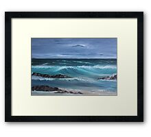 Into the Waves Framed Print