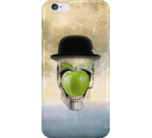 Magritte Skull iPhone Case/Skin