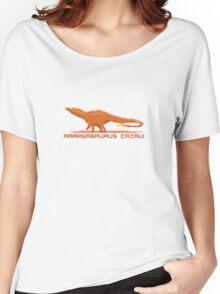 Pixel Amargasaurus Women's Relaxed Fit T-Shirt