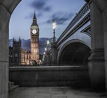 Archway in Westminster, London by Mark  Nangle