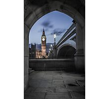 Archway in Westminster, London Photographic Print
