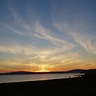 Sunset over Scapa by Fiona MacNab