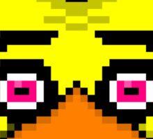 Chica the Chicken 8-Bit Sticker