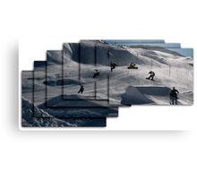 360 grab Canvas Print