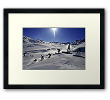 360 sequence Framed Print