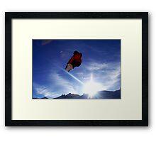 360 indy Framed Print
