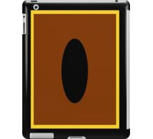 Yu-Gi-Oh Card Back iPad Case/Skin