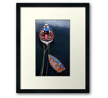Boat Trip Framed Print