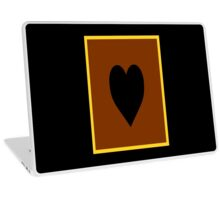 Yu-Gi-Oh Card Back (Heart of the Cards) Laptop Skin