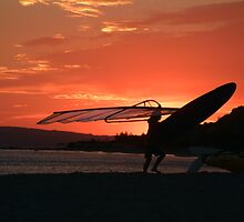 Windsurf Sunset 1 by breakingwaves