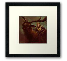 Thranduil The Faithless Woodland Sprite Framed Print