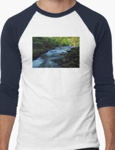 Autumn Falls Men's Baseball ¾ T-Shirt