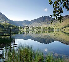 Fleetwith Pike and Haystacks, Buttermere by Martin Lawrence