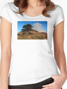 A Lonely Place Women's Fitted Scoop T-Shirt