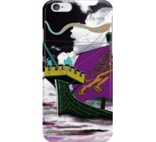 A 13th century English Fighting Ship, the Cog - all products bar duvet iPhone Case/Skin