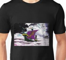 A 13th century English Fighting Ship, the Cog Unisex T-Shirt