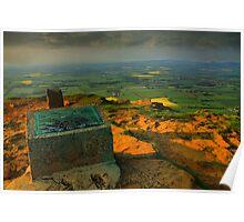 Alec Falconer View Marker Cringle Moor  Poster