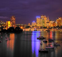 "Lavender   - ""The Photographers Cut"" - Moods of a City #13 - The HDR Series, Sydney Australia by Philip Johnson"