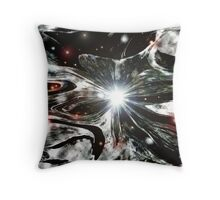 COLLAPSED STAR Throw Pillow