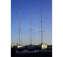 Ballyholme Yacht Club Photographic Print