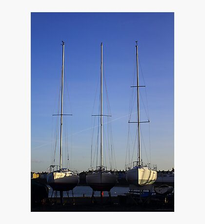 Ballyholme Yacht Club Photographic Print
