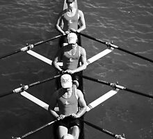 The Rowers #2 by Laurie Minor