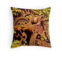 surplus to requirements ... Throw Pillow