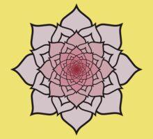 Buddhist Lotus Into Infinity Baby Tee