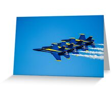 Blue Angels - Teamwork Greeting Card