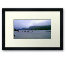Plocton Bay Framed Print