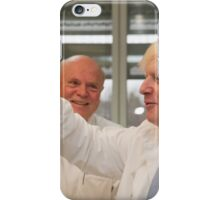 Boris Johnson with chief scientist Tony Ford iPhone Case/Skin