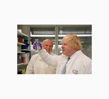 Boris Johnson with chief scientist Tony Ford Unisex T-Shirt